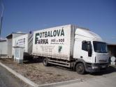 Iveco Euro Cargo s přívěsem
